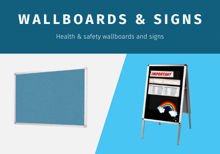 Health & Safety wall boards and signs