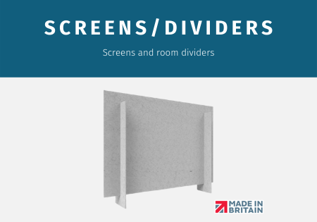 Health & Safety Floor Screens and Partitions
