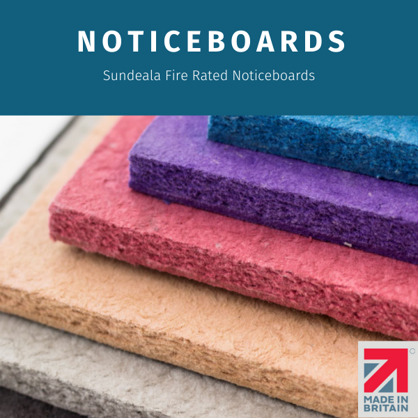Noticeboard banner with Shop now